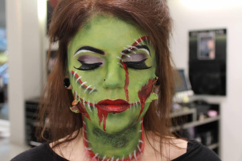Как сделать макияж зомби фото 912