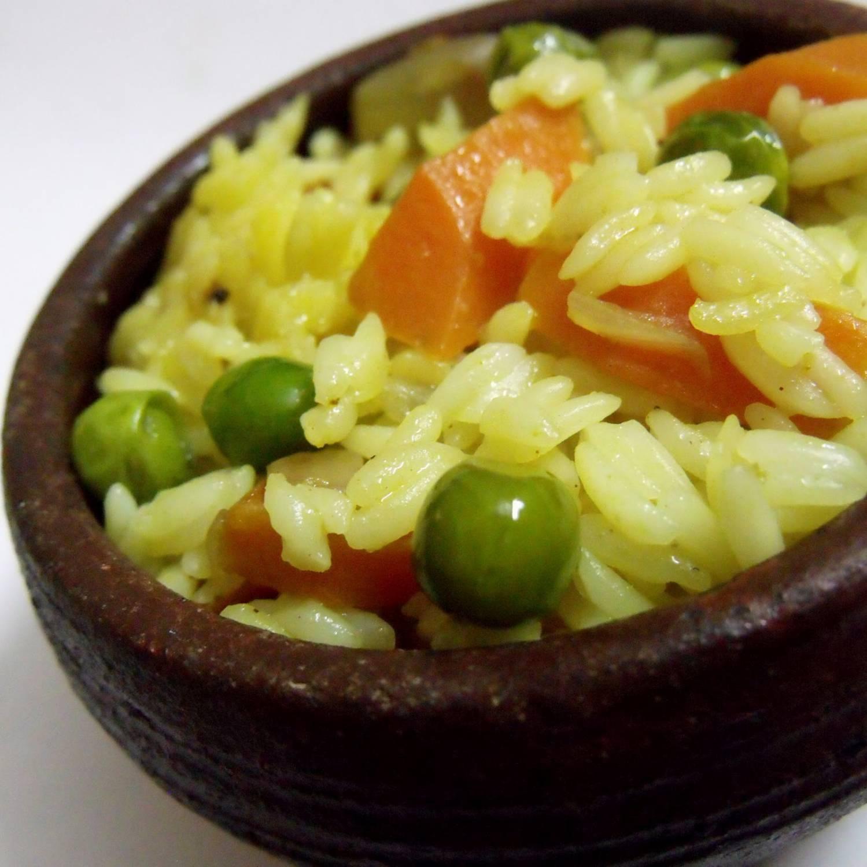 Похудение на рисе и овощах