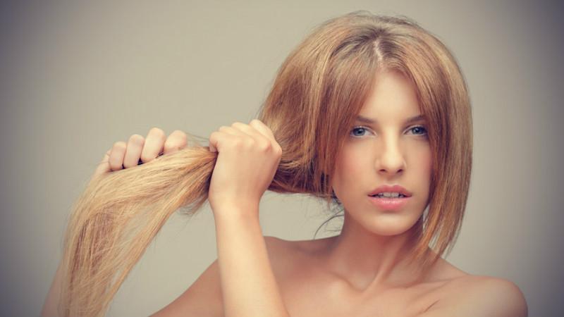 Маска для волос от сухих кончиков